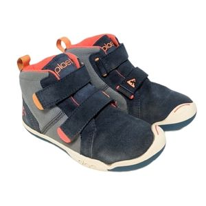 PLAE Kid's Max Leather High Top Sneakers 11.5